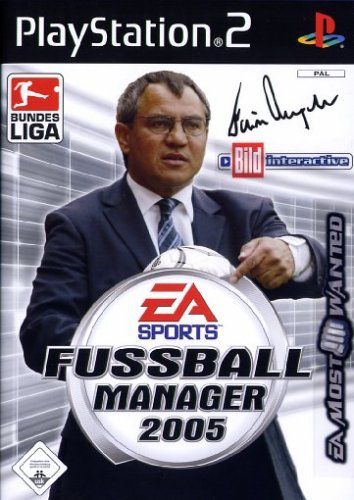 Fussball Manager 2005 [EA Most Wanted] (Ps2 Ea Sports)