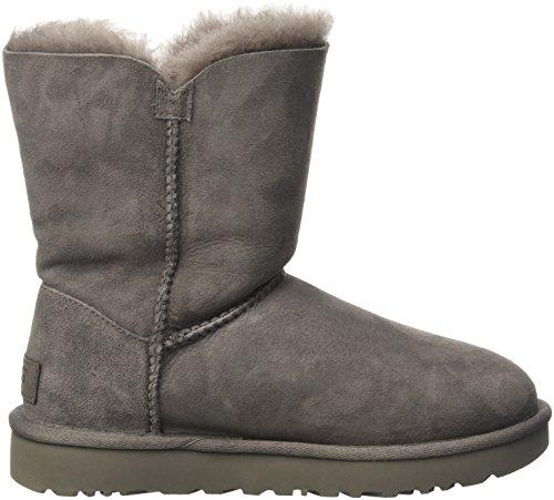 Ugg Australia Bailey Button, Chaussures À Lacets Pour Femmes Grises
