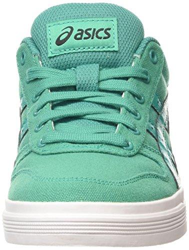 Asics Aaron, Baskets Basses Mixte Adulte Vert (spectra Green/spectra Green 7878)