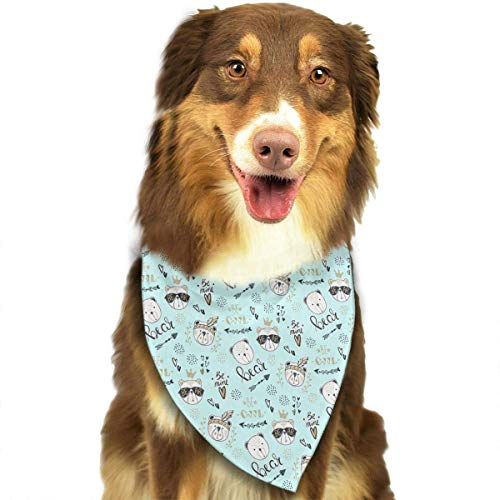 Sdltkhy Fashion Bear Triangle Bandana Scarves Accessories for Pet Cats and Dogs - Gifts