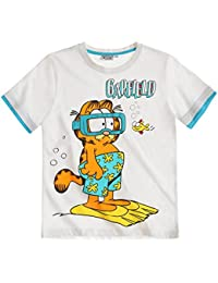 Garfield Chicos Camiseta Manga Corta 2016 Collection - Blanco