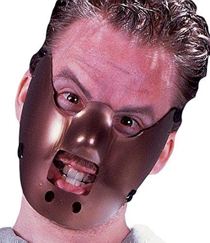 Hannibal Lecter Lector Unisex-Erwachsene/Kostüm Halloween-Maske Zubehör
