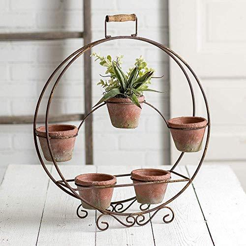 CTW Home Collection Blumentopf, rund, Terra Cotta Töpfe