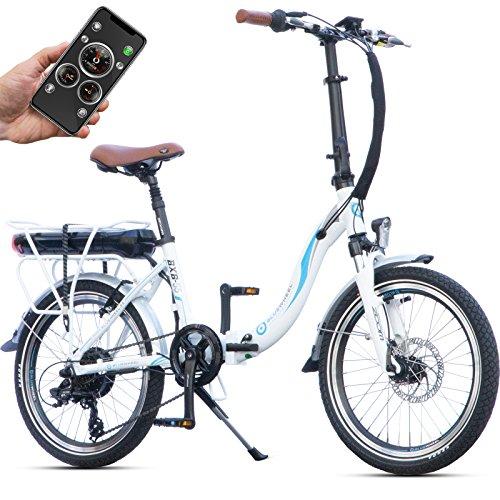 Bluewheel 20 Zoll klappbares E-Bike 16Ah -Deutsche...