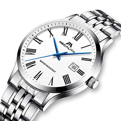 2b1781495389 Relojes Hombre Relojes de Pulsera Impermeable Deportivo Lujo de Acero  Inoxidable.