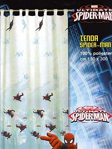 Preisvergleich Produktbild Caleffi Marvel Spiderman Schiebegardine Mis.150x 300Dis. und col. Wie Foto