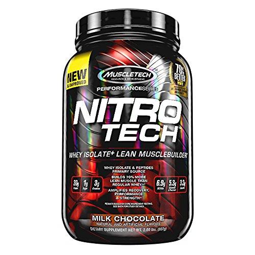 Muscletech Supplemento Nutrizionale Nitro Tech Performance Series 2 lb, Chocolate - 907 gr