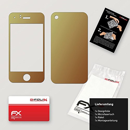 "Skin Apple iPhone 3Gs ""FX-Variochrome-Pearl"" Designfolie Sticker FX-Variochrome-Mystery"