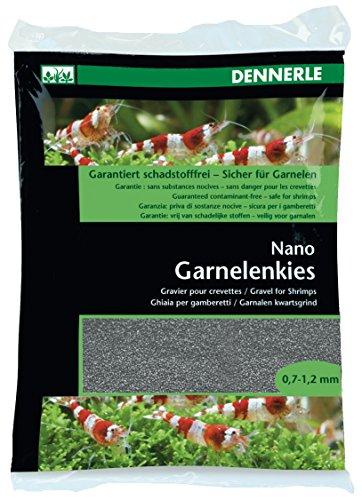 Dennerle 7004147 Nano Garnelenkies 2 kg, Arkansas grau