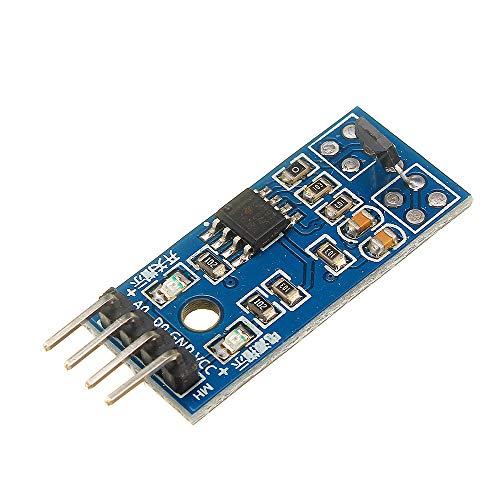 ILS - LM393 DC 5V / 3,3V Halle Messsonde Hall-Schalter-Sensor-Modul Motor Speed   Test für magnetische Arduino ermitteln Auto -