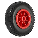 Festnight 1pc 8'/ 10' Rueda de neumático a Prueba de pinchazos para Kayak Canoe Trolley Cart Replacement Tire