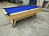 #6: BilliardO American Pool Table with Automatic Ball Collection System (ABCS)
