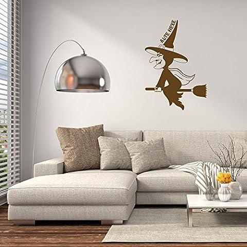 Adesivo da parete–Vecchia Strega, Fawn Brown, 76 x 110 cm