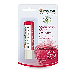 Himalaya Herbals Strawberry Shine Lip Balm (4.5g) (Pack of 2)