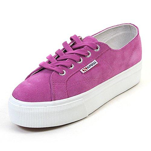 Superga 2790-Suew, Chaussures de Gymnastique Femme Soft Lilla
