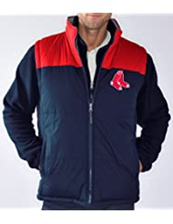 Boston Red Sox MLB G-III Tailgate Systems 4-in-1 Heavyweight Performance Jacket Veste
