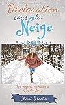 Déclaration sous la Neige: la romance cocooning, c'est tout l'hiver! Une comédie romantique feel-good pleine de flocons par Brooks