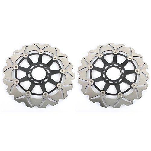 TARAZON Disques de frein avant 2 pièces pour CAGIVA Raptor 650 01-07 V X X3 Xltra Raptor 1000 00-06