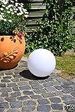 Kugelleuchte Light   30 cm  Kugellampe witterungsbeständig und schlagfest  Leuchte mit E27 Porzellanfassung