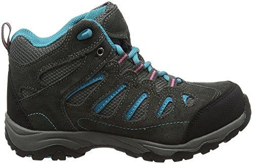 Karrimor Bodmin Mid Weathertite, Chaussures de Randonnée Hautes Mixte Enfant Gris (Dgb)
