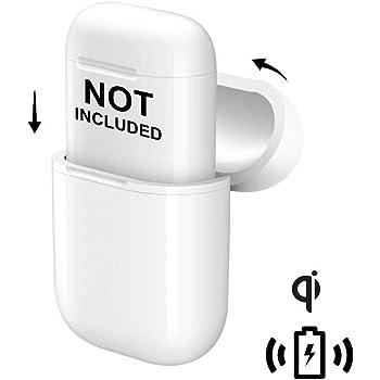 Étui Protecteur AirPods, NeotrixQI de charge sans fil Housse de protection pour Apple Compatible AirPod et chargeur Qi sans fil - Blanc