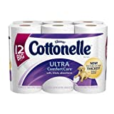 Cottonelle Ultra Comfort Care Toilet Paper, Big Roll, 12 Rolls, Packs of 4 (48 Rolls) by Cottonelle