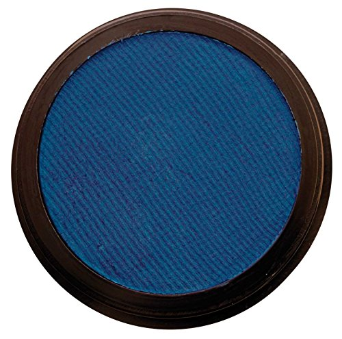 Eulenspiegel 350355 - Profi-Aqua Make-up Schminke - Perlglanz-Blau - 3,5 ml / 5 g -