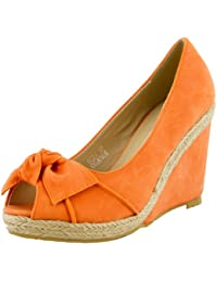 Zapatos Altos Sandalias de Cu–a para Mujer, Tacon Plataforma Peep toes,