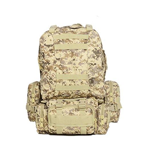 XD-Combo pack attacco zaino/zaino/borsa di tattiche/campo outdoor Pack Pack Camo , h a