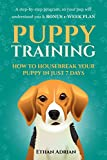 PUPPY TRAINING 101: HOW TO TRAIN YOUR PUPPY IN JUST 7 DAYS: A step-by-step GUIDE so your pup will understand you & BONUS 1-WEEK  PLAN (puppy training guide, dog training guide, potty train, crate)