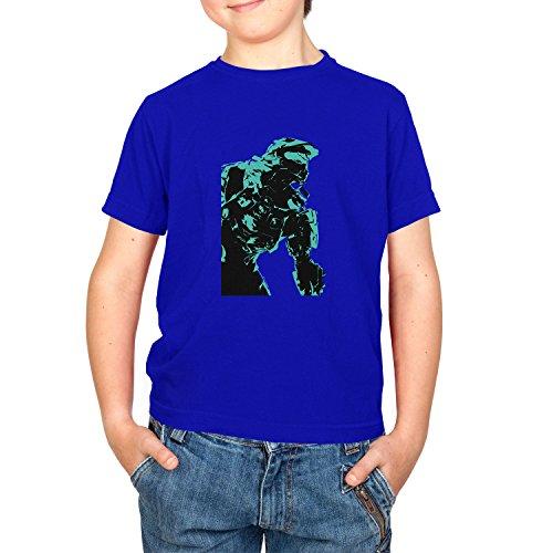 Texlab The Master - Kinder T-Shirt, Größe XL, - Jungen Master Chief Kostüm
