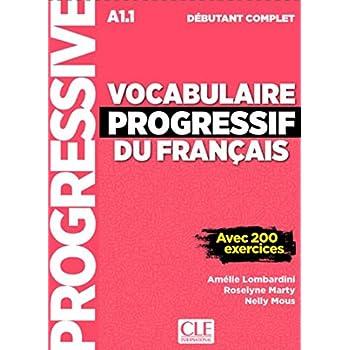 Vocabulaire progressif du français - Niveau débutant complet - Livre + CD + Livre-web - Nouvelle couverture