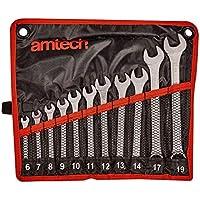 Amtech K0400 Combination Spanner Set, 11-Piece