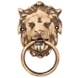 Regalia Brass Lion Face Door Knocker (10...