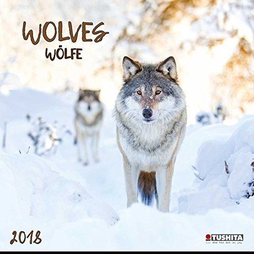 Wolves 2018: Kalender 2018 (Wonderful World)