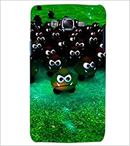 PrintDhaba Scary Smilies D-3903 Back Case Cover for SAMSUNG GALAXY ON 7 (Multi-Coloured)