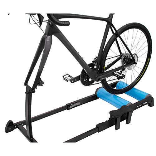 """M-Wave Unisex - Yoke'n'Roll 65 - Carrete de Entrenamiento para Bicicleta, Color Negro/Azul, para 26""""-29"""""""