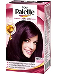 poly palette intensiv creme coloration 880 aubergine stufe 3 - Coloration Aubergine