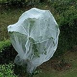 JIAYUAN Moskito-Insekten-Insektenvogelsperrenjagd Blind Garden Netting zum Schutz Ihrer Pflanzenfrüchte Blume (Farbe : Weiß, größe : 9×9m/30×30ft)