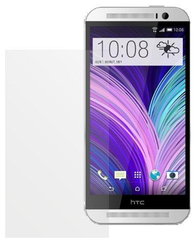 dipos I 2X Schutzfolie matt passend für HTC One M8 (Modell 2014) Folie Bildschirmschutzfolie