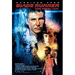 FILMPOSTER BLADE RUNNER, CA. 30,5 X 20,3 CM