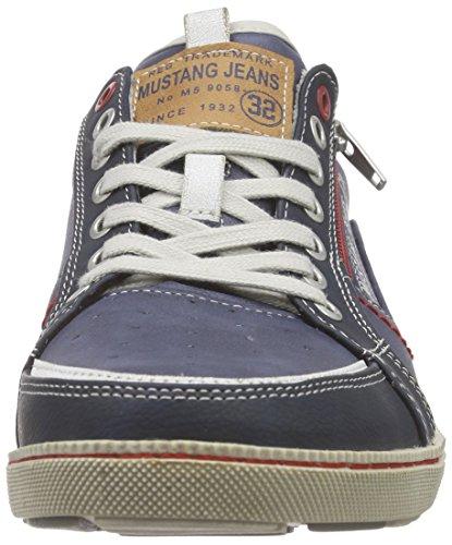 Mustang 4073-302-800 Herren Sneakers Blau (800 dunkelblau)