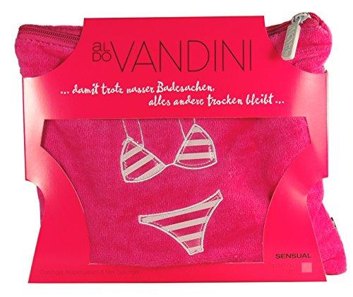 aldo VANDINI Geschenk-Set SENSUAL mit Duschgel, Body Balsam & Bikini-Bag