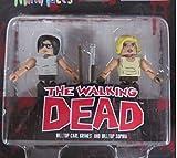 New Beginning Carl & Sophia Walking Dead Minimates by Minimates