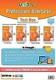 Test box professioni sanitarie: Manuale di teoria-Eserciziario commentato-Prove di verifica-10.000 quiz. Con aggiornamento online. Con app. Con e-book. Con software di simulazione