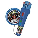 REIG Avengers Assemble Hand Microphone with Amplified Speaker