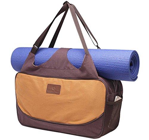 #DoYourYoga Große Yogatasche »Vimalaa Segeltuch (Baumwoll-Canvas), für EXTRA-Lange Yogamatten/Yogatragetasche in schönen Farben und Des...