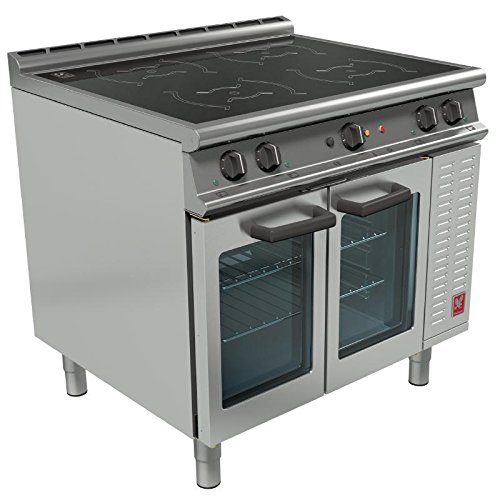 Kitchen Hobs Commercial ~ Falcon dominator plus heavy duty induction oven range