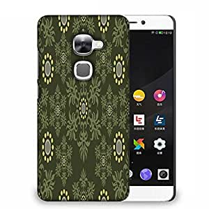 Snoogg Abstract Green Pattern Designer Protective Phone Back Case Cover For Samsung Galaxy J1
