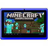 "Google Android 7"" Tablet PC featuring Minecraft (Blue), [Importado de UK]"